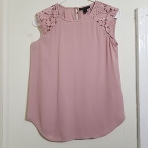 J.Crew Sleeve Shirt With Lace detailing!